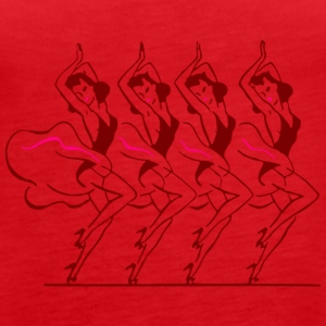 dancers - Women's Premium Tank Top
