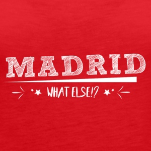 City! Love! Madrid! Spain! - Women's Premium Tank Top