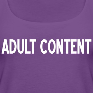 ADULT CONTENT B - Women's Premium Tank Top
