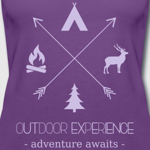 Outdoor Experience Adventure Awaits - Women's Premium Tank Top
