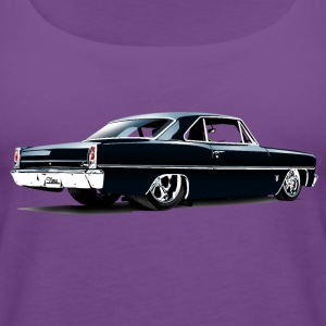 Chevy II Nova Super Sport Back - Women's Premium Tank Top