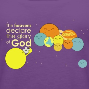 The heavens declare the glory of God - Women's Premium Tank Top
