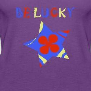Be lucky star, star, lucky - Women's Premium Tank Top