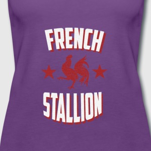 French Stallion - Women's Premium Tank Top