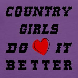 Country girls - Women's Premium Tank Top