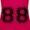 Number 88 in the grunge look - Women's Premium Tank Top