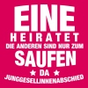 Eine heiratet... - Frauen Premium Tank Top