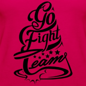 Go Fight Team - Women's Premium Tank Top