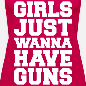 Girls Have Guns Gym Quote