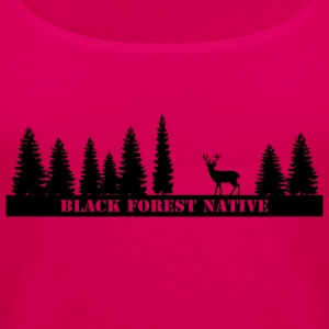 Black Forest Native - Women's Premium Tank Top