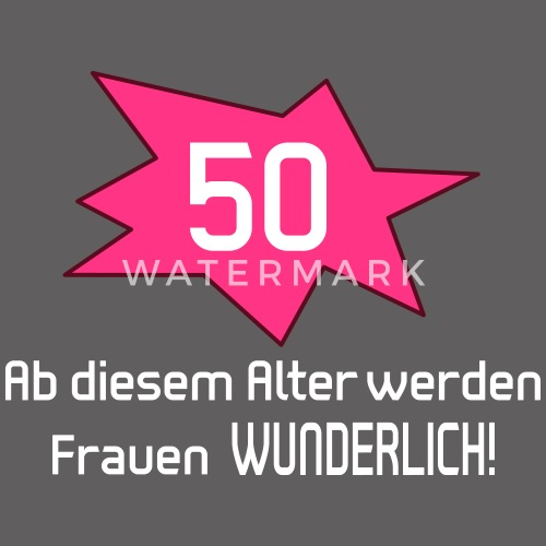 50 Geburtstag Frau Frauen Premium Tanktop Spreadshirt