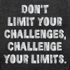 Don't Limit Your Challenges, Challenge Your Limits - Women's Premium Tank Top