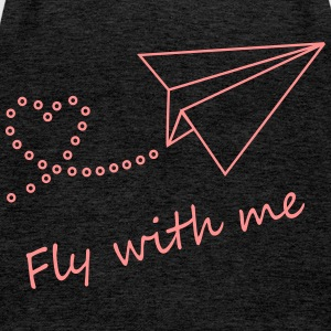Fly with me - Frauen Premium Tank Top