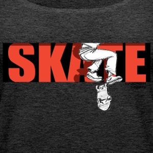 skate_by_jonsh - Frauen Premium Tank Top