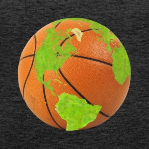 basketball planet earth globe earth globe - Women's Premium Tank Top