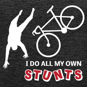 MY OWN STUNTS - Frauen Premium Tank Top