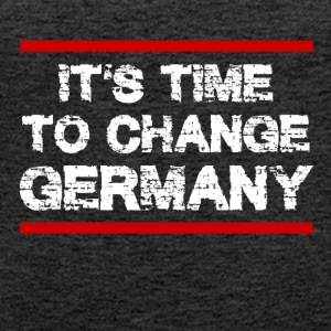 It 's Time to Change Germany - Women's Premium Tank Top