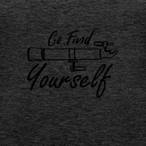 Go find yourself - Women's Premium Tank Top