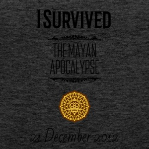 I survived the Mayan Apocalypse - Women's Premium Tank Top