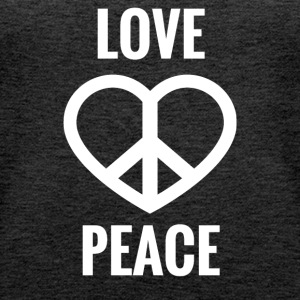 LOVE AND PEACE - Women's Premium Tank Top
