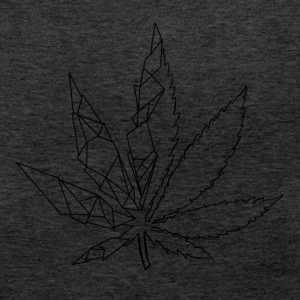 Stylized cannabis leaf - Women's Premium Tank Top