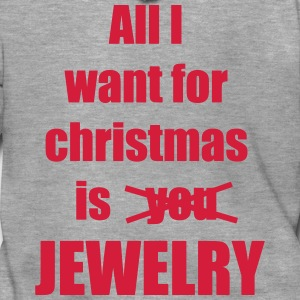 Christmas song saying Jewelry - Men's Premium Hooded Jacket