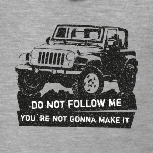 Jeep SUV off-road Shirt - Rozpinana bluza męska z kapturem Premium