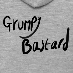 Grumpy Bastard - Men's Premium Hooded Jacket