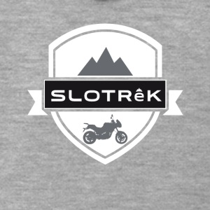 slotrek crest - Men's Premium Hooded Jacket