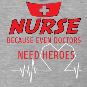 Nurse: Nurse, because even doctors need - Men's Premium Hooded Jacket