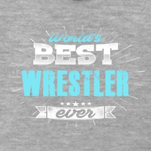Worlds greatest wrestler - Men's Premium Hooded Jacket
