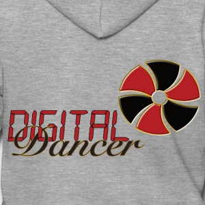 Digital Dancer - Men's Premium Hooded Jacket