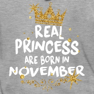Real princesses are born in November! - Men's Premium Hooded Jacket