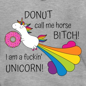 Unicorn Donut Call Me Bitch Horse award - Premium-Luvjacka herr