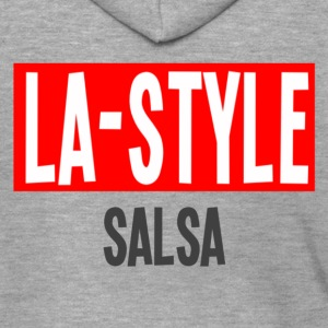 LA Style Salsa - Los Angeles Style Danceshirt - Men's Premium Hooded Jacket