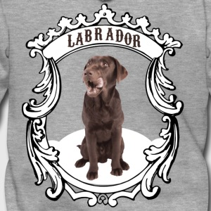 Labrador Retriever brown - this is my dog! - Men's Premium Hooded Jacket