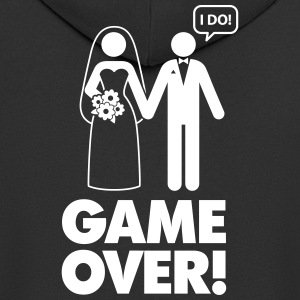 Game Over! I Am Married. - Men's Premium Hooded Jacket