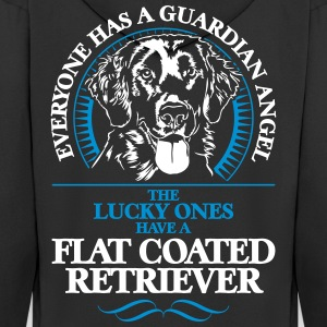 GUARDIAN ANGEL flat coated retriever - Premium Hettejakke for menn