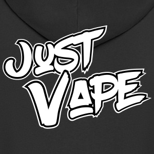 Just Vape - Men's Premium Hooded Jacket