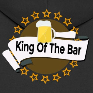 King of the Bar - Men's Premium Hooded Jacket