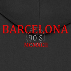 BARCELONA 1992 r1 - Men's Premium Hooded Jacket