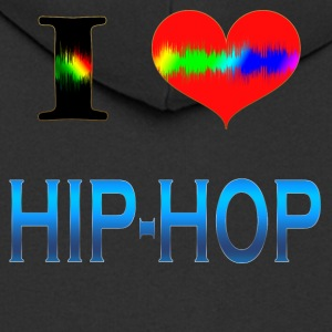 I Love HIP HOP - Premium Hettejakke for menn