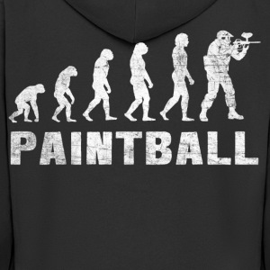 Evolution Paintball 2.0 - Paintball T-Shirt - Men's Premium Hooded Jacket