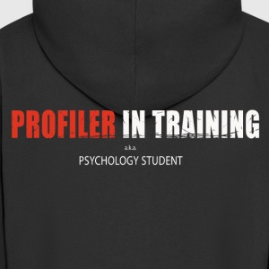 Profiler in training - Men's Premium Hooded Jacket