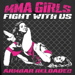 MMA Girls - Fight Wear - Mix Martial Arts - BJJ - Männer Premium Kapuzenjacke