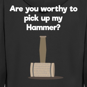 Pick the Hammer - gift - Men's Premium Hooded Jacket