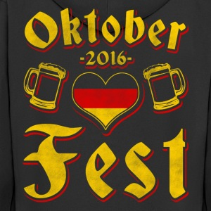 Oktoberfest 2016 clothing - Men's Premium Hooded Jacket