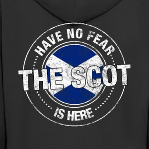 Have No Fear The Scot Is Here Shirt - Men's Premium Hooded Jacket