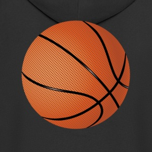 Basketball T-Shirt Orange - Männer Premium Kapuzenjacke