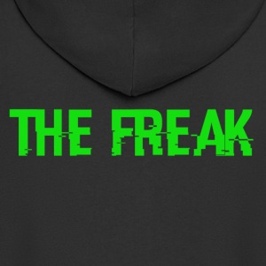 The Freak - Felpa con zip Premium da uomo